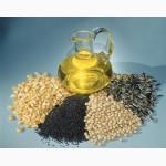 Масла пищевые на экспорт (подсолнечное масло).