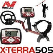 Металлоискатель Minelab X-Terra 505 на прокат