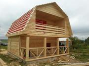 Дачный недорогой Дом из бруса с доставкой и установкой по Беларуси