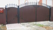 Сварные металлоизделия (заборы,  ворота,  навесы,  козырьки и тд.)